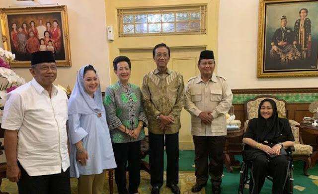 Ini Dia Pesan Penting Sri Sultan Kepada Prabowo