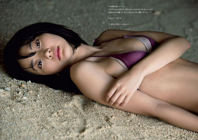 Takeda Rena 武田玲奈 Weekly Playboy 2016 No 19-20 Wallpaper HD