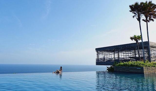 villa pemandangan laut