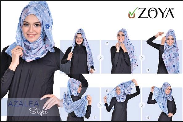 Jilbab Pashmina Zoya Hijabfest