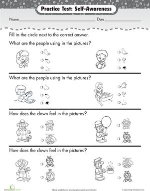 My English Blog Senses Activities