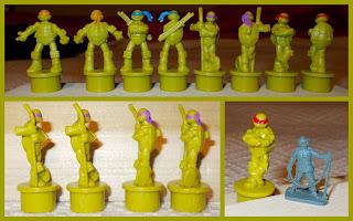 52857 A; Board Game; Board Game Playing Pieces; Boardgame Pieces; Cowabunga; Donatello; Hero Turles; Heroes In A Half Shell; Heroes in a Half-shell; Kimble; Leonardo; Michelangelo; Nickalodeon Board Game; Nickalodeon TMNT; Rafael; Small Scale World; smallscaleworld.blogspot.com; Tactic; Tactic Board Game; Teenage Mutant Hero Turtles; Teenage Mutant Ninja Turtles; TMHT; TMNT; TMNT Board Game;