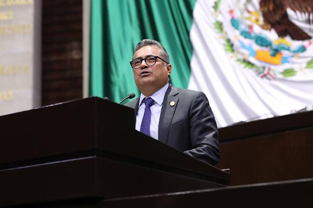 secretario de la Comisión de Hacienda y Crédito Público, Carol Antonio Altamirano (Morena)