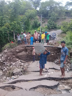 Jalan Putus di Bima, Gubernur NTB Perintahkan Secepatnya Ditangani