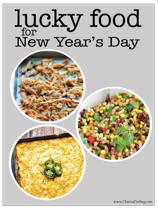 Lucky Foods to Eat on New Year's Day! | Charisa Darling