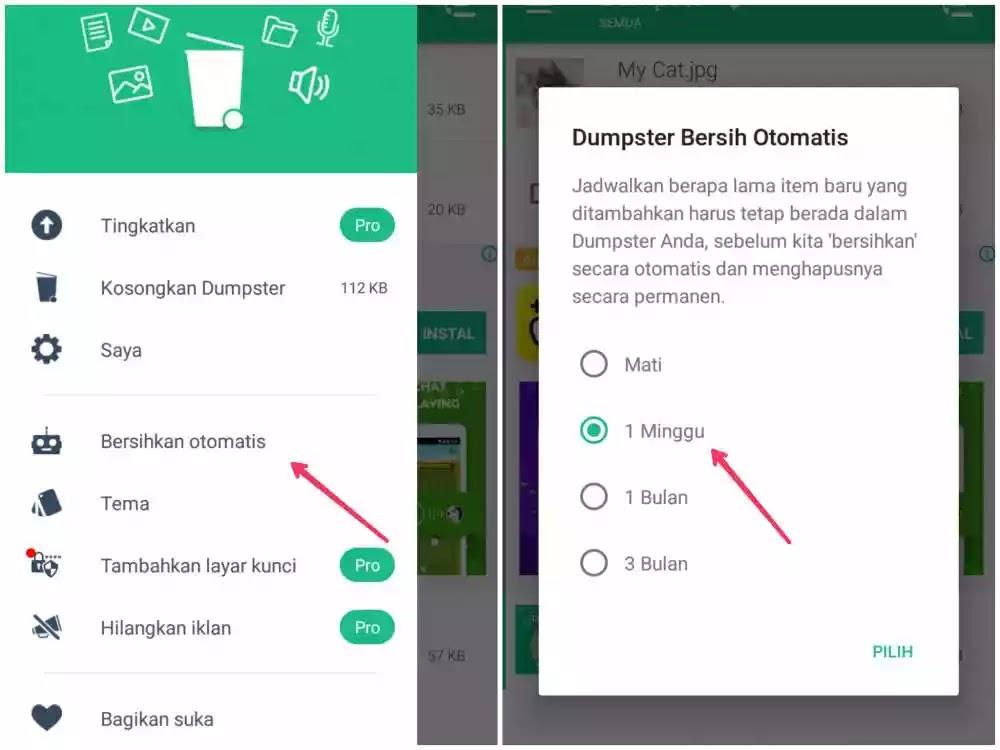 Cara mengembalikan file terhapus di android