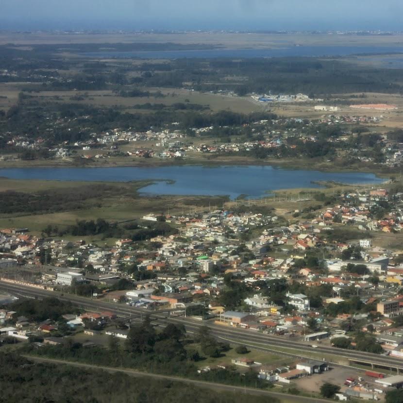 BR 101, Lagoa do Marcelino e Lagoa das Pombas, Osório