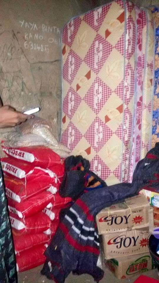 Aisha Buhari donates food items to retired solider who cried out for help