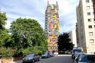 Sunday Street Art : dAcRuZ - rue des Périchaux - Paris 15