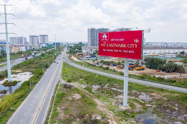 Đánh giá vị trí dự án MT Eastmark City
