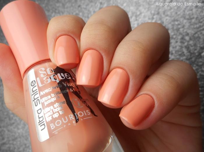 Esmalte Bourjois - Abricot Ouate