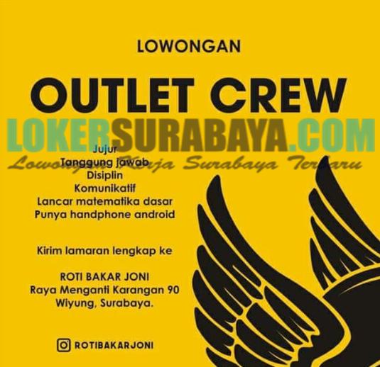 Lowongan Kerja Surabaya Terbaru Di Roti Bakar Joni Juni 2019 Lowongan Kerja Surabaya November 2020 Lowongan Kerja Jawa Timur Terbaru