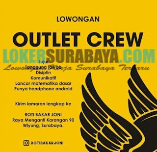 Lowongan Kerja Surabaya Terbaru di Roti Bakar Joni Juni 2019