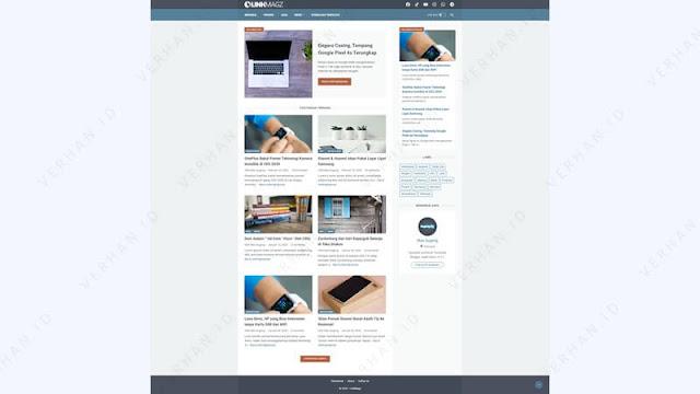 template linkgmagz premium