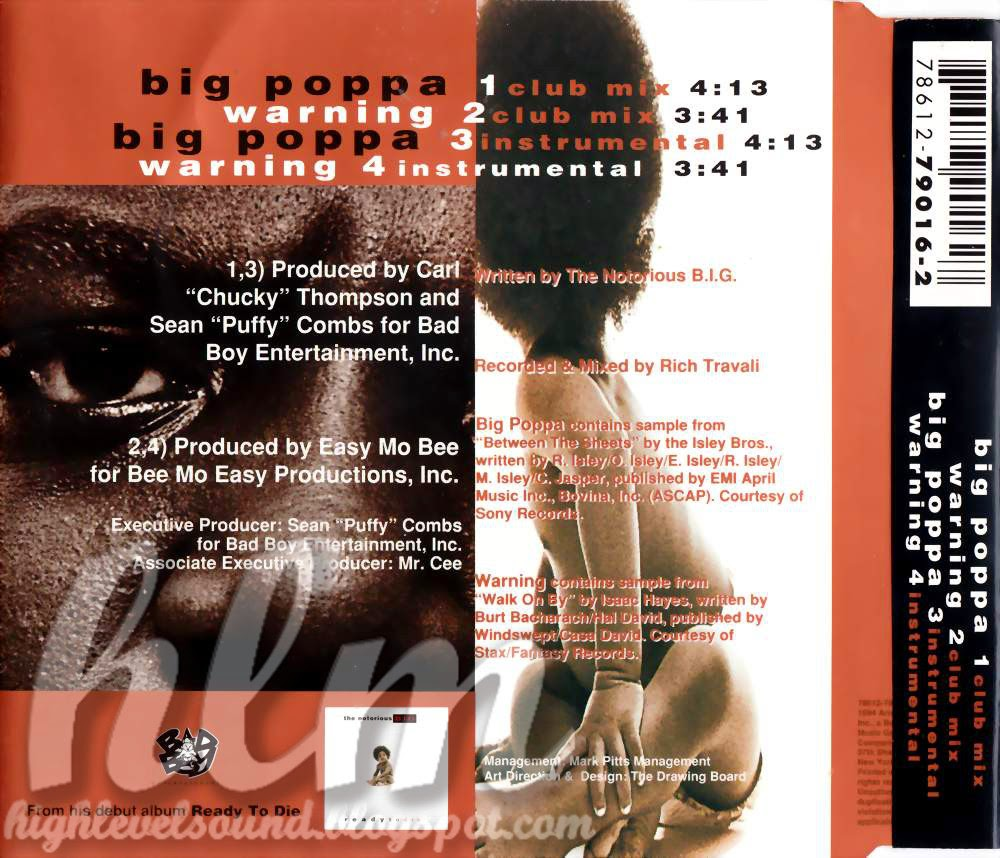 highest level of music: The Notorious B.I.G.-Big Poppa ...