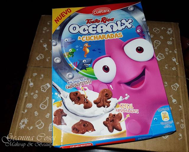Oceanix TostaRica Degustabox Enero ´18 - Especial Desayuno