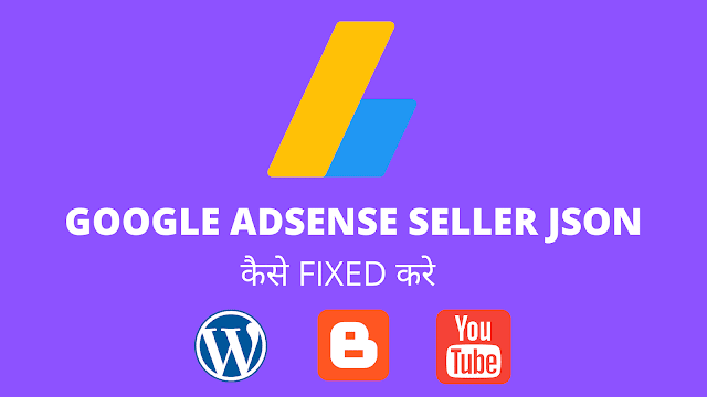 Google Adsense sellers.json Error कैसे fixed करे