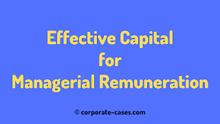 calculation of effective capital for managerial remuneration
