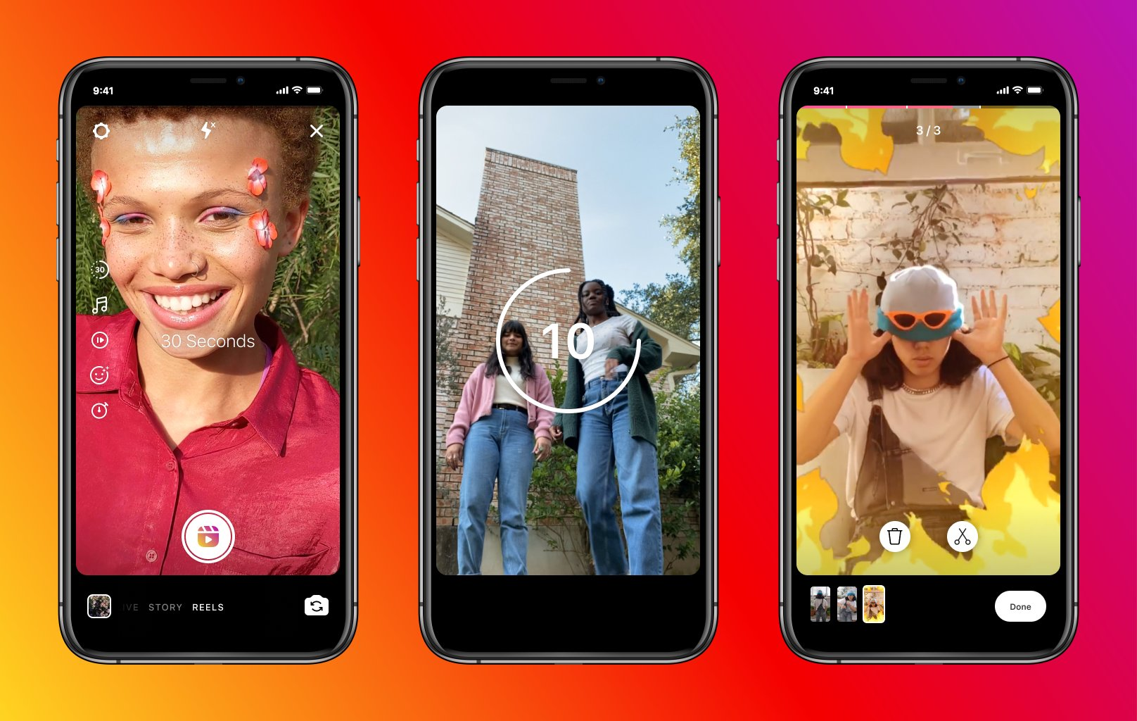 Instagram migliora Reels, il suo TikTok integrato