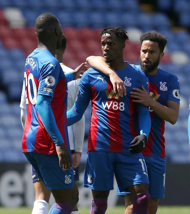 Crystal Palace Gem Zaha sets new scoring record