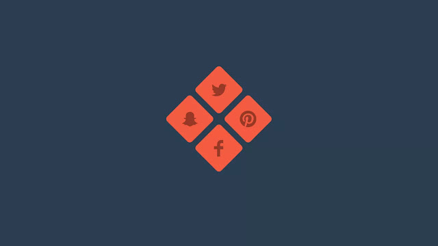 Split Buttons into Social Media Icons on Hover
