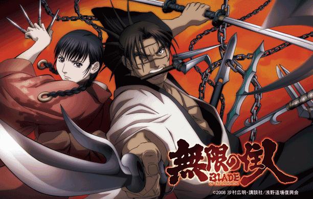 Blade of Immortal - Daftar Anime Samurai Terbaik Sepanjang Masa