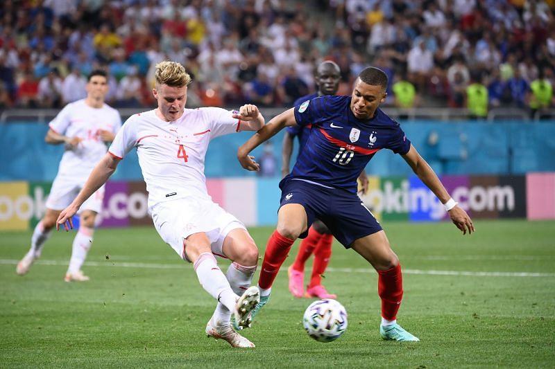 فرنسا 3-3 سويسرا