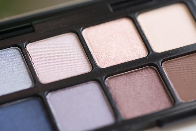 eyeshadow palette Smashbox Double Exposure Mini swatches