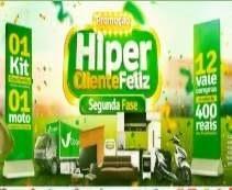 Promoção Cocipa Hiper Cliente Feliz Carro 0KM, Motos e Vales-Compras