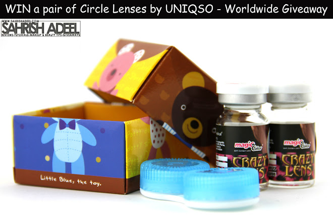 Worldwide Giveaway - Win a pair of Circle Lenses by Uniqso.