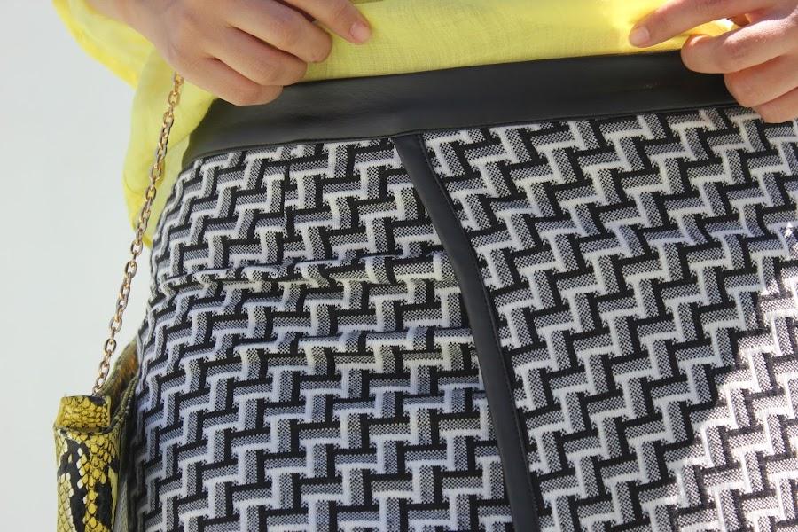 DIY Como hacer y coser falda pareo asimétrica