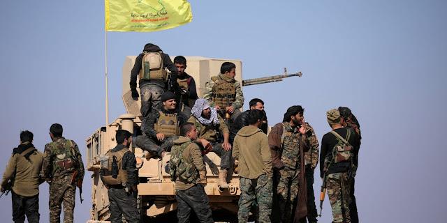 Οι κουρδικές δυνάμεις ανέστειλαν τις επιχειρήσεις τους κατά του ISIS