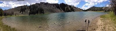 Cameron Lake, Madison Range, MT