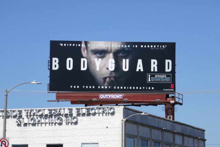 Bodyguard Emmy FYC billboard