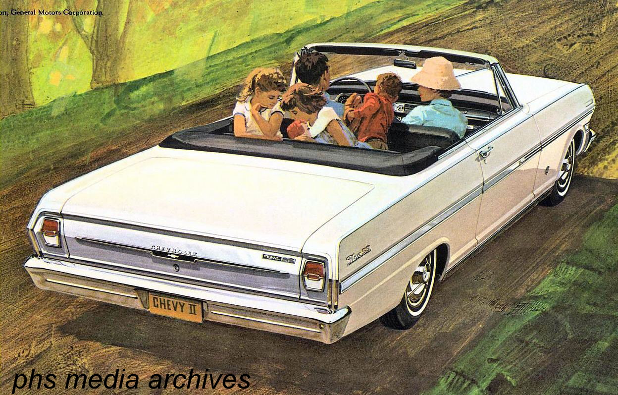 The SS Nova convertible was a 1963 only deal as GM pulled the convertible,  Nova 400 and 300 series along with SS option in order to give Chevelle  maximum ...