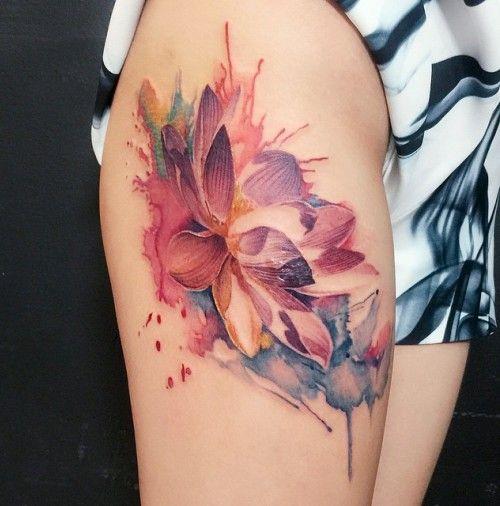 Best Floral Tattoos