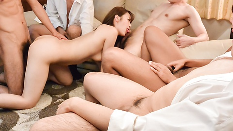 Jav Stream Natural gangbang along steamy Eri Hosaka