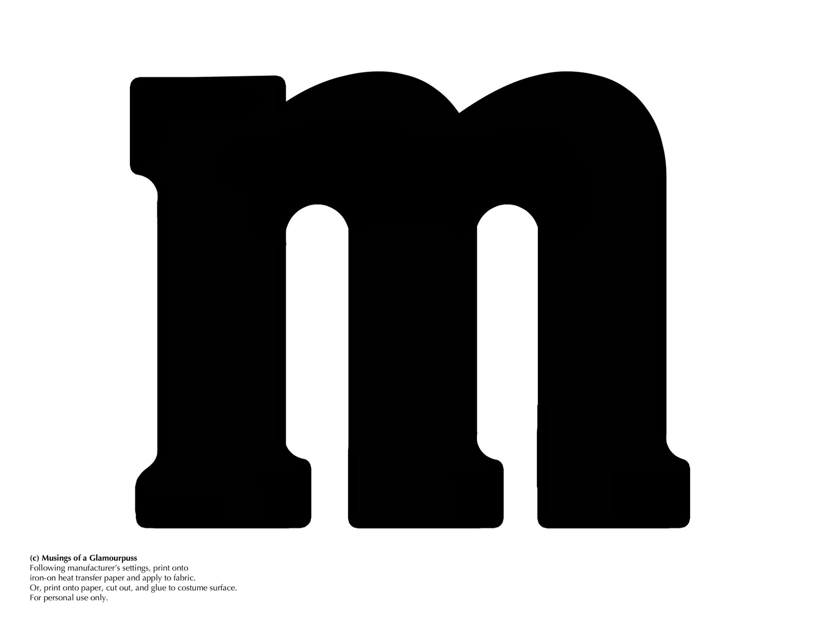 letter m logo musings of a glamourpuss m amp m costume faces 138