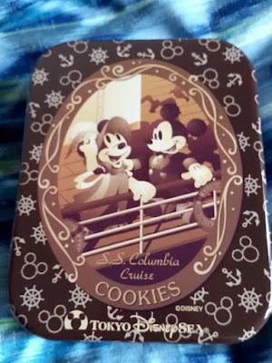 SS Columbia Cruise Cookies at Tokyo Disneysea Japan
