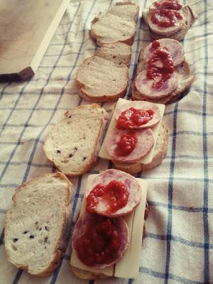 sandwich de lux