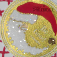 Christmas Greetings detail - photo by Deborah Frings - Deborah's Gems