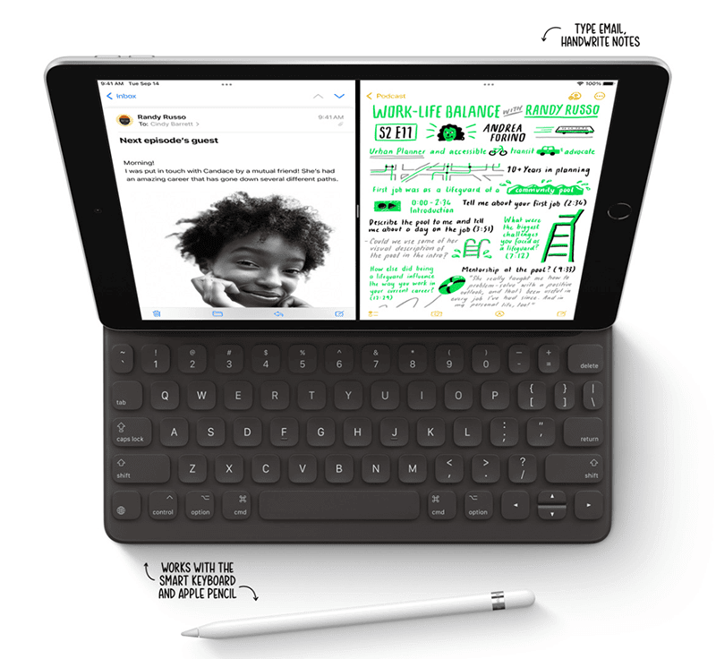 With Apple Pencil 1st generation support
