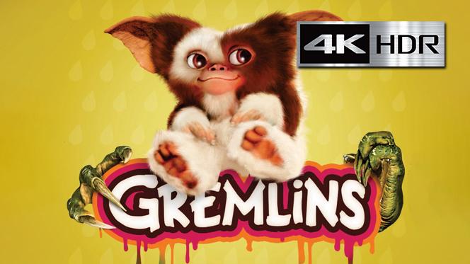 Gremlins (1984) 4K UHD [HDR] Latino-Castellano-Ingles