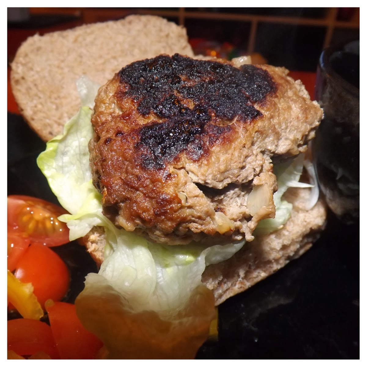 Slimming World Lamb Burger