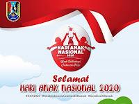 """Selamat Hari Anak Nasional 2020 """"Anak Terlindungi, Indonesia Maju"""""""