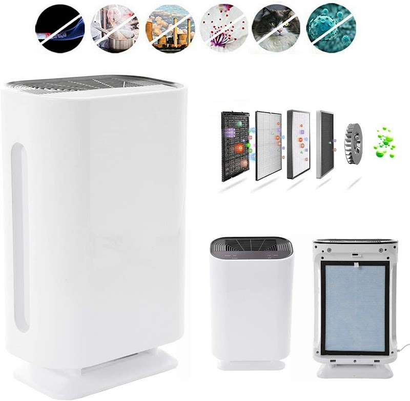 60% OFF Air_Purifier for Home with HEPA_Filter