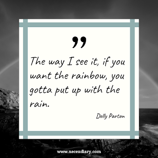 dolly parton quote about rain