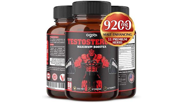 Agobi Natural Testosterone Booster for Men