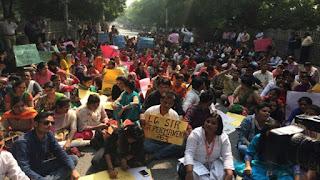 teachers-protest-in-delh