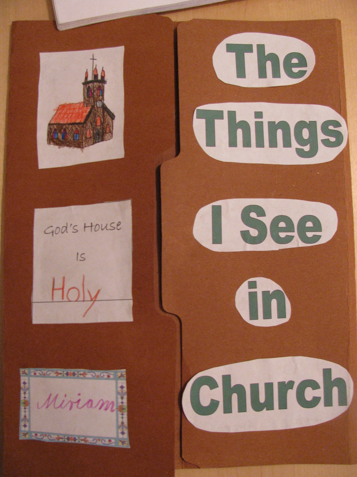 Untrodden Paths: Catholic Lapbook/Katholisches \